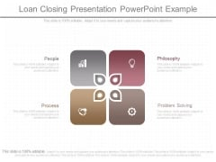 Loan Closing Presentation Powerpoint Example