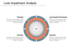 Loan Impairment Analysis Ppt PowerPoint Presentation Template Cpb