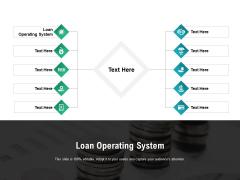 Loan Operating System Ppt PowerPoint Presentation Portfolio Information Cpb Pdf