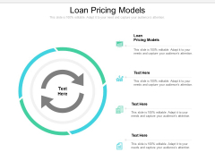 Loan Pricing Models Ppt PowerPoint Presentation Ideas Slide Portrait Cpb Pdf