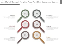 Local Market Research Template Powerpoint Slide Background Designs