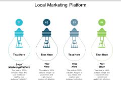 Local Marketing Platform Ppt PowerPoint Presentation Icon Design Inspiration Cpb