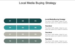Local Media Buying Strategy Ppt PowerPoint Presentation Styles Information Cpb