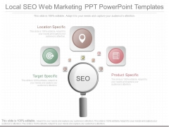 Local Seo Web Marketing Ppt Powerpoint Templates