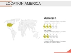 Location America Ppt PowerPoint Presentation Examples