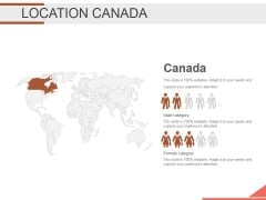 Location Canada Ppt PowerPoint Presentation Tips