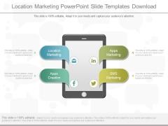 Location Marketing Powerpoint Slide Templates Download