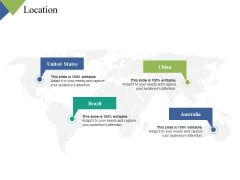 Location Pointers Ppt PowerPoint Presentation Summary Information