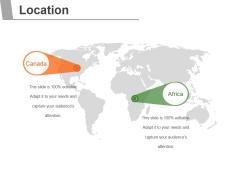 Location Ppt PowerPoint Presentation Deck