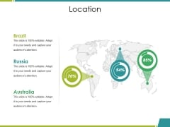 Location Ppt PowerPoint Presentation File Master Slide
