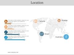 Location Ppt PowerPoint Presentation Icon