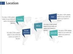 Location Ppt PowerPoint Presentation Slides Maker