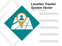 Location Tracker System Vector Ppt PowerPoint Presentation Gallery Maker