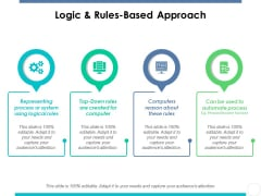 Logic And Rules-Based Approach Ppt PowerPoint Presentation Slides Design Inspiration