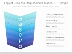 Logical Business Requirements Model Ppt Sample