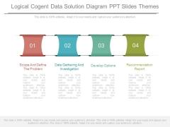 Logical Cogent Data Solution Diagram Ppt Slides Themes