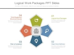 Logical Work Packages Ppt Slides