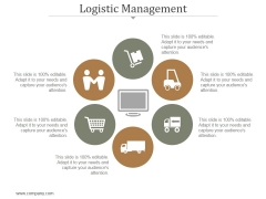 Logistic Management Ppt PowerPoint Presentation Information