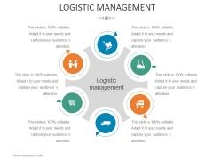 Logistic Management Ppt PowerPoint Presentation Styles Ideas