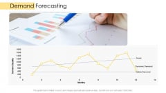 Logistic Network Administration Solutions Demand Forecasting Ppt Professional Topics PDF