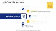 Logistic Network Administration Solutions Non Financial Measures Resources Ppt Styles Templates PDF