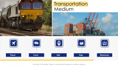 Logistic Network Administration Solutions Transportation Medium Ppt Pictures Graphic Images PDF