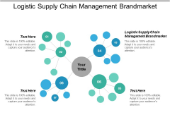 Logistic Supply Chain Management Brandmarket Ppt PowerPoint Presentation Outline Aids