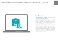 Logistics Management Diagram Presentation Powerpoint Example