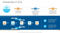 Logistics Management Framework Introduction Icon Professional PDF