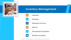 Logistics Management Framework Inventory Management Brochure PDF