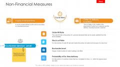 Logistics Management Framework Non Financial Measures Professional PDF
