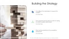 Logistics Management Services Building The Strategy Mockup PDF