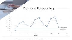 Logistics Management Services Demand Forecasting Portrait PDF