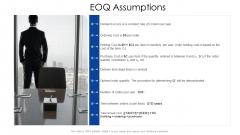 Logistics Management Services EOQ Assumptions Guidelines PDF