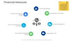 Logistics Management Services Financial Measures Infographics PDF