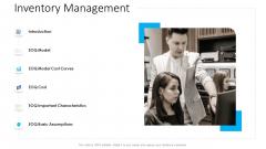 Logistics Management Services Inventory Management Diagrams PDF