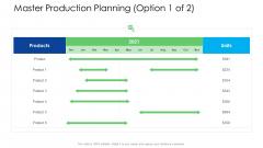Logistics Management Services Master Production Planning Products Mockup PDF