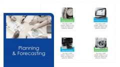 Logistics Management Services Planning And Forecasting Brochure PDF