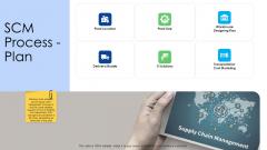 Logistics Management Services SCM Process Plan Brochure PDF
