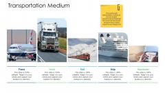 Logistics Management Services Transportation Medium Template PDF