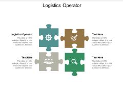 Logistics Operator Ppt PowerPoint Presentation Infographics Brochure Cpb