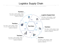 Logistics Supply Chain Ppt PowerPoint Presentation Summary Show Cpb