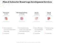 Logo Design Plan Of Action For Brand Logo Development Services Download PDF