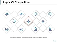 Logos Of Competitors Ppt PowerPoint Presentation Deck