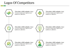 Logos Of Competitors Ppt PowerPoint Presentation Icon Graphics Design