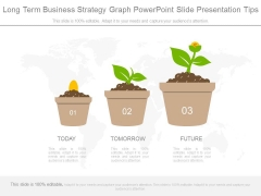 Long Term Business Strategy Graph Powerpoint Slide Presentation Tips