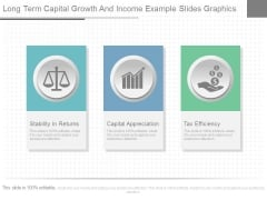 Long Term Capital Growth And Income Example Slides Graphics