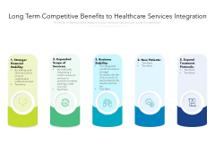 Long Term Competitive Benefits To Healthcare Services Integration Ppt PowerPoint Presentation File Visuals PDF