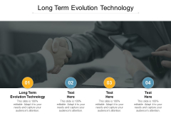 Long Term Evolution Technology Ppt PowerPoint Presentation Infographic Template Designs Download Cpb