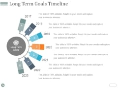 Long Term Goals Timeline Ppt PowerPoint Presentation Microsoft
